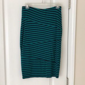 Adorable Navy/Teal skirt